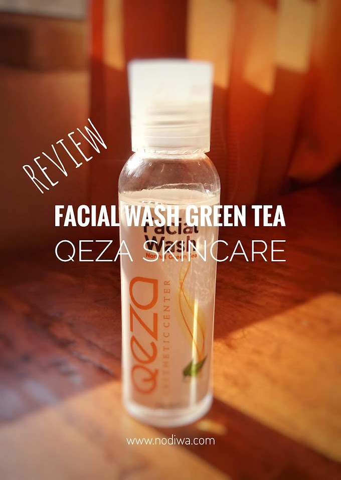 Review : Facial Wash Green Tea Qeza Skincare