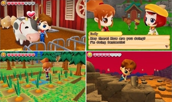 Download ROM Harvest Moon The Lost Valley 3DS (decrypted ...