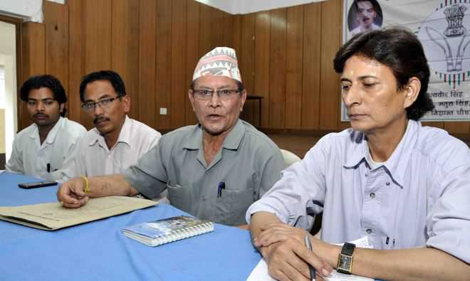 Rashtriya Gorkha Morcha merges with Congress