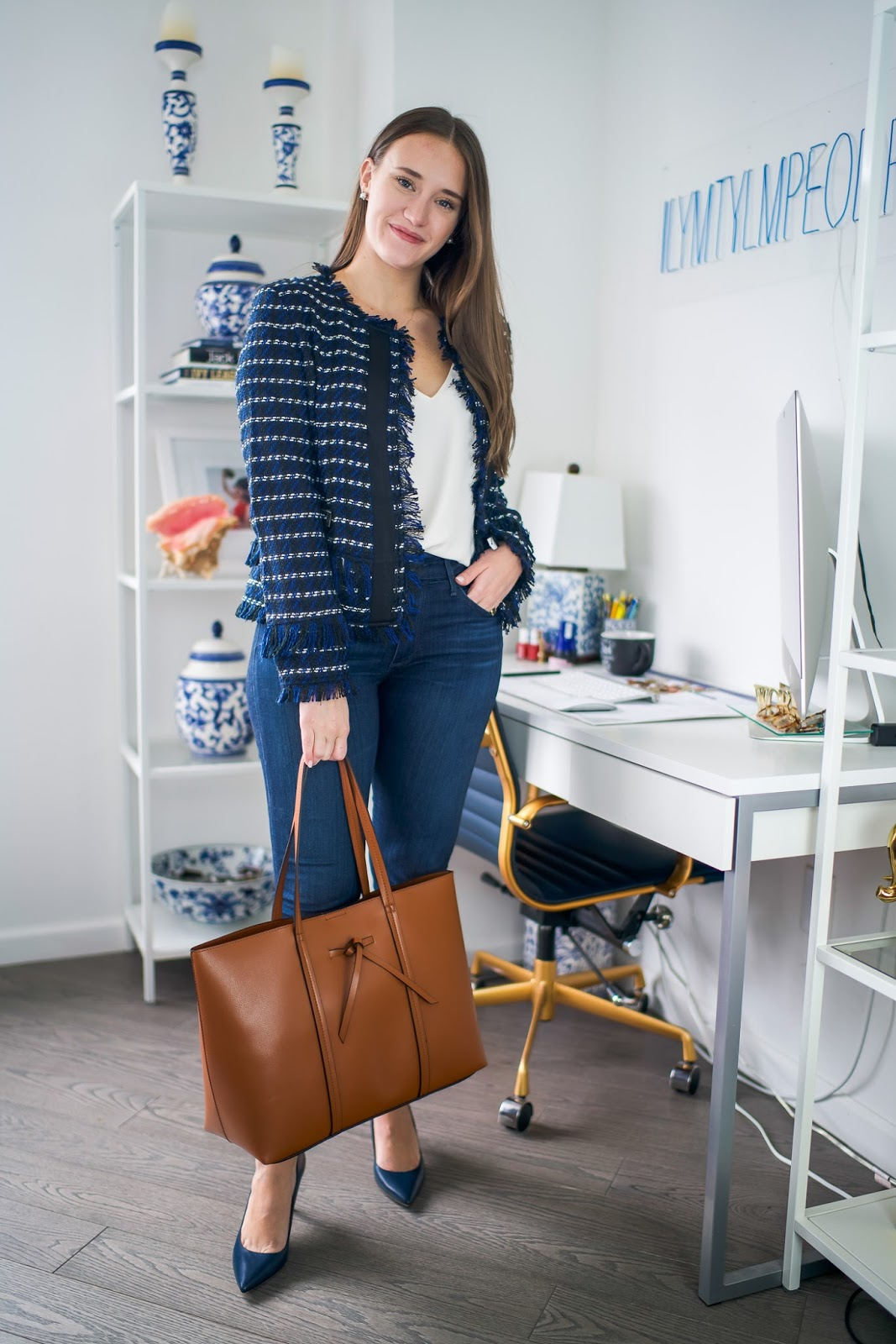 c9179128ca4f Casual Friday outfit by popular New York style blogger Covering the Bases