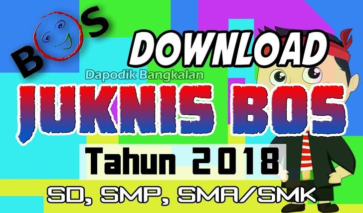 Download JUKNIS BOS Tahun 2018 Jenjang SD, SMP dan SMA/SMK
