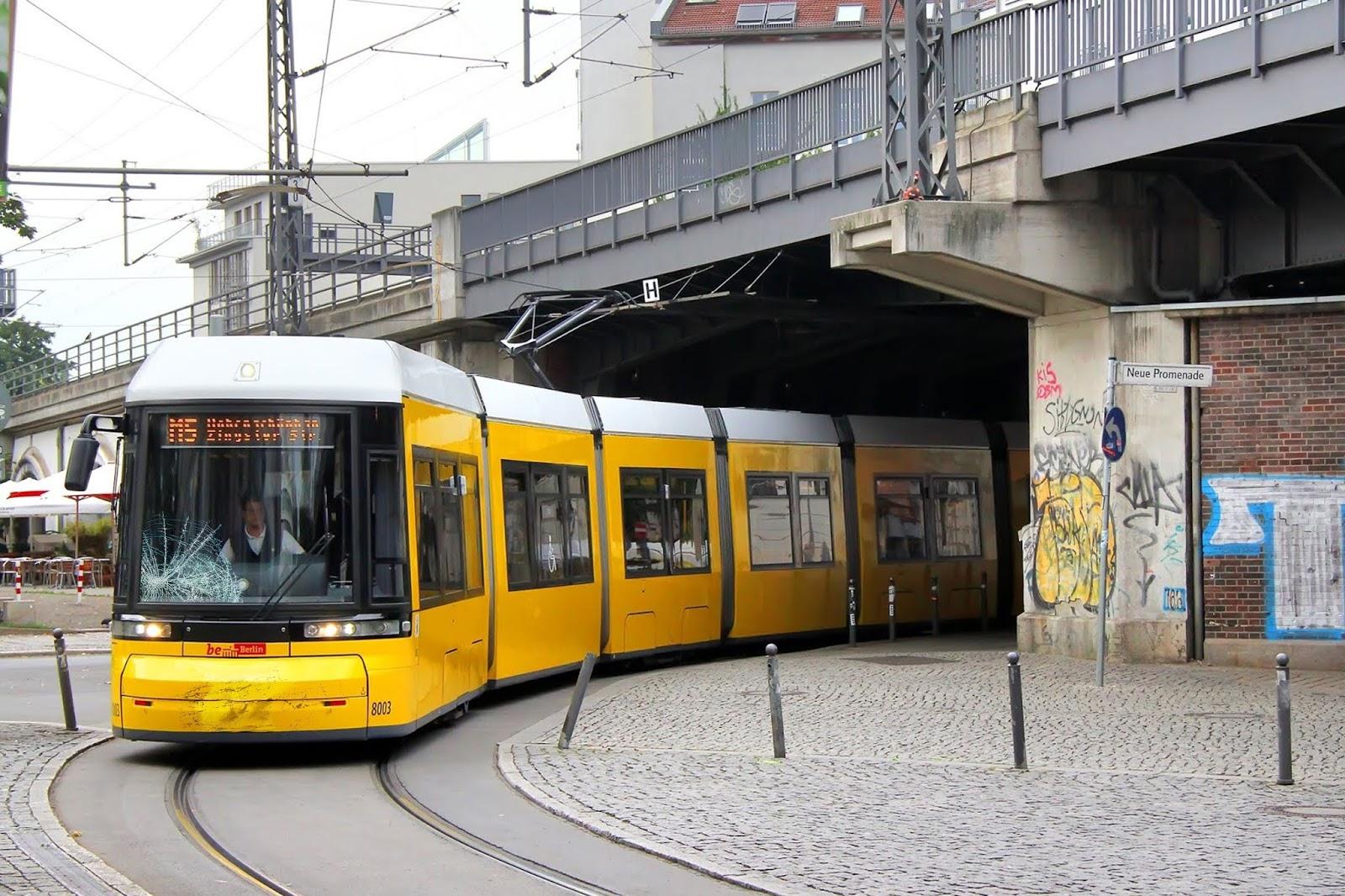 Straßenbahnfahrer Berlin