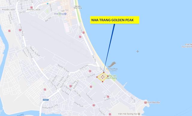 vị trí đắc địa của dự án Golden Peak
