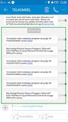 Bukti Pembayaran Pulsa Gratis 200 Ribu Telkomsel dari Aplikasi Akulaku Android