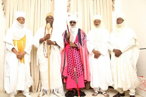 Emir Sanusi Visits Ooni In Ile-Ife, Sues For Peaceful Coexistence