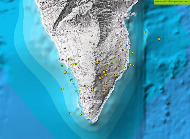 Continúan los seísmos en el sur de La Palma