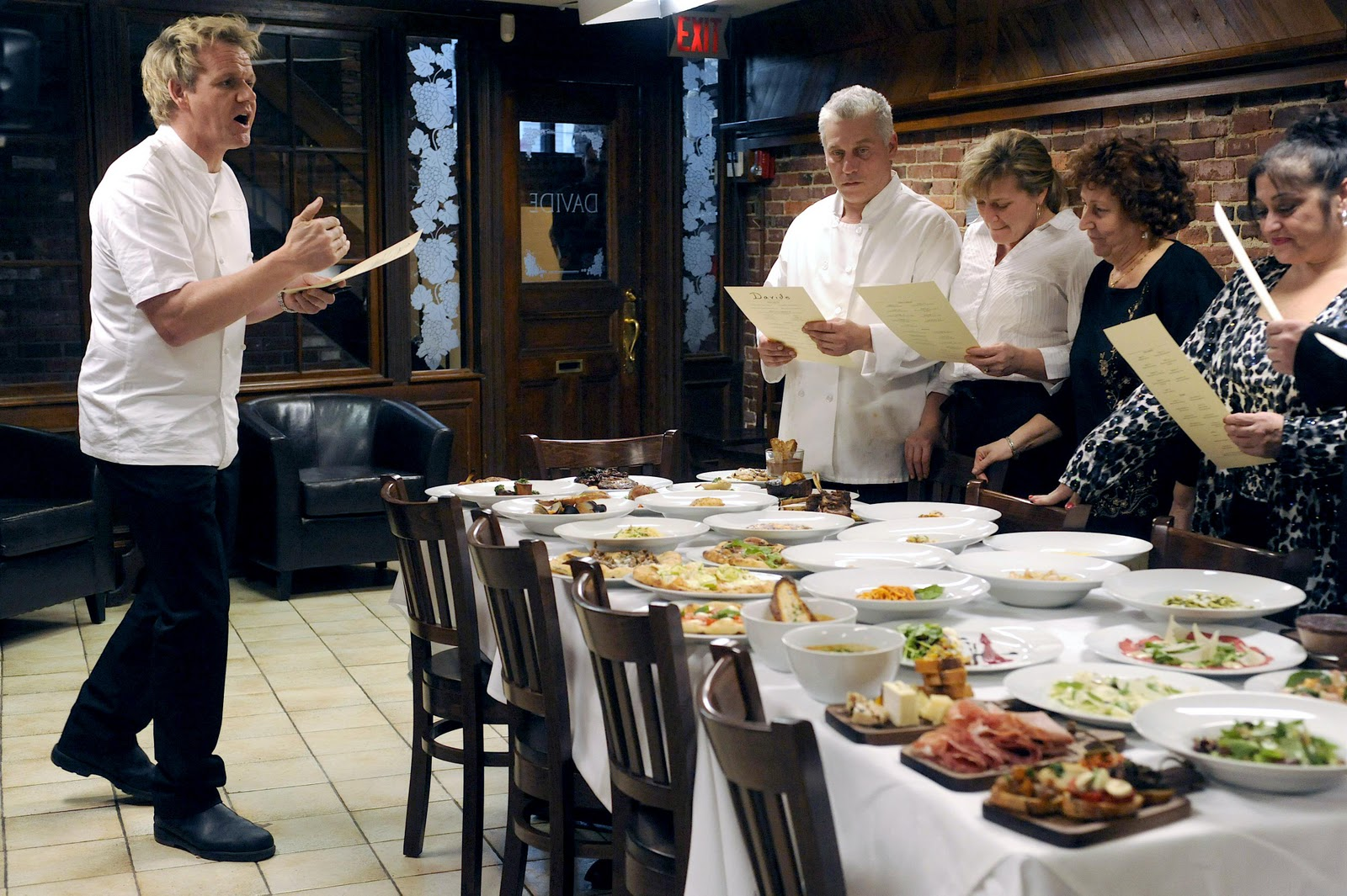 Ramsay Kitchen Nightmares Davide