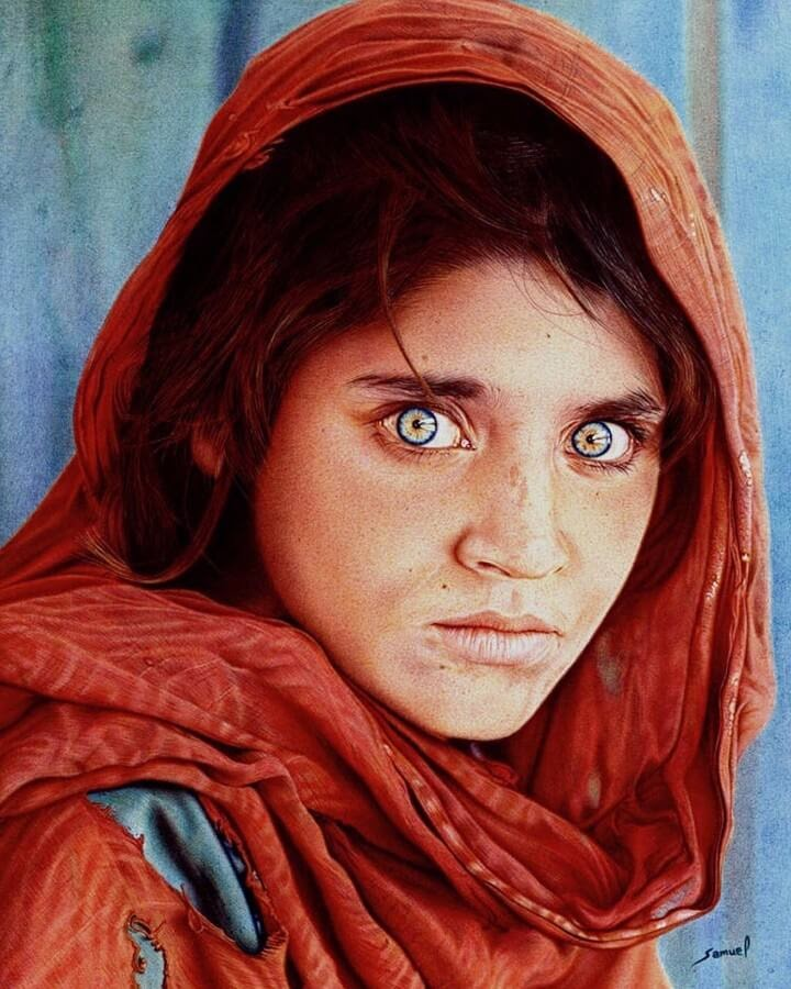 06-Afghan-Girl-Samuel-Silva-www-designstack-co