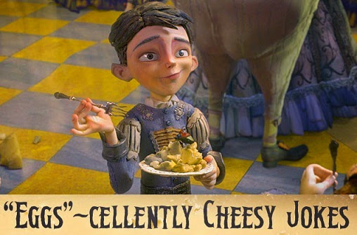 the boxtrolls cheese queso fromage käse eggs cheesebridge Portley-Rind Here Be Monsters!