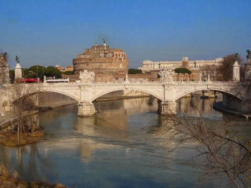 Tibre e Castel Sant'Angelo