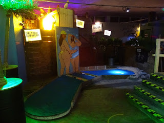 Junkyard Crazy Golf in Manchester