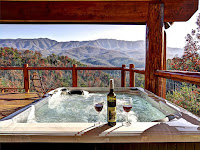Hot tub cabins in Gatlinburg