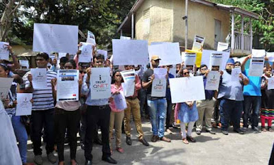QNet, I trust Qnet, Demonstration, Protest, Mumbai Press Club