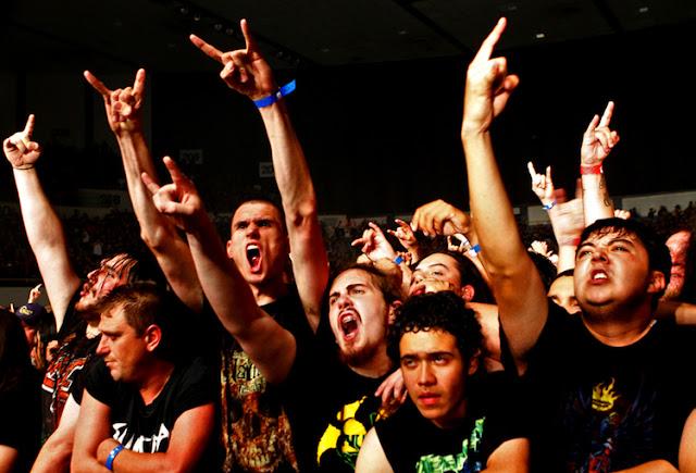 Nuevos estudios demuestran metal género musical favorito Inglaterra