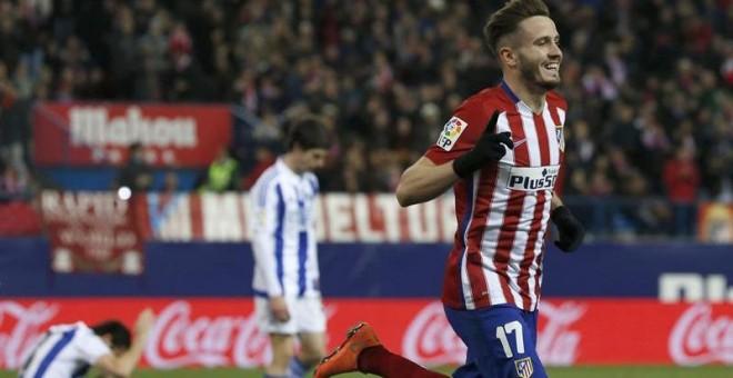 """El Atlético de Madrid venció con la mayor solvencia y facilidad del mundo a  la Real Sociedad por 3-0. Lejos del manido discurso del """"partido a partido"""" 63ec5b6d74d11"""