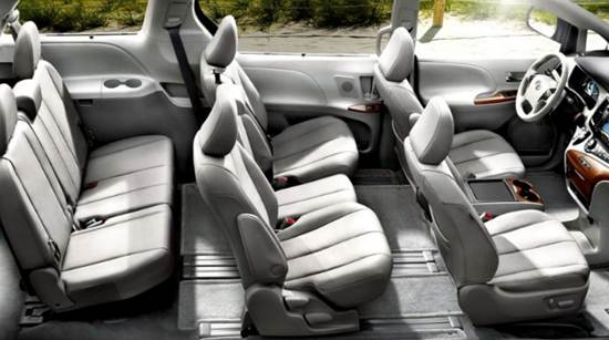 2017 Toyota Sienna Overviews