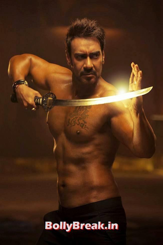 Ajay Devgn Stills, Ajay Devgn Body in Action Jackson Movie