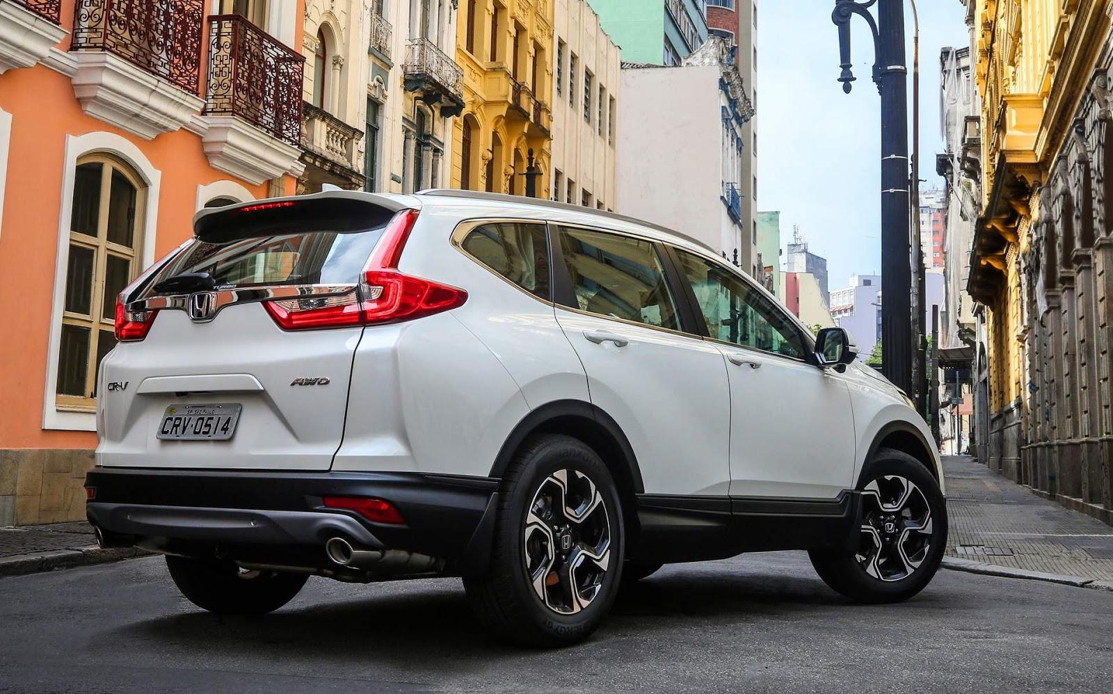 Honda CR-V 2018: vídeo, preço e especificações - Brasil