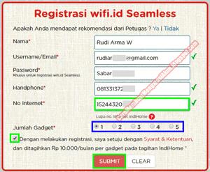 cara mendapatkan wifi.id gratis