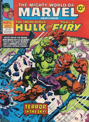 Mighty World of Marvel #286, Hulk vs Bi-Beast