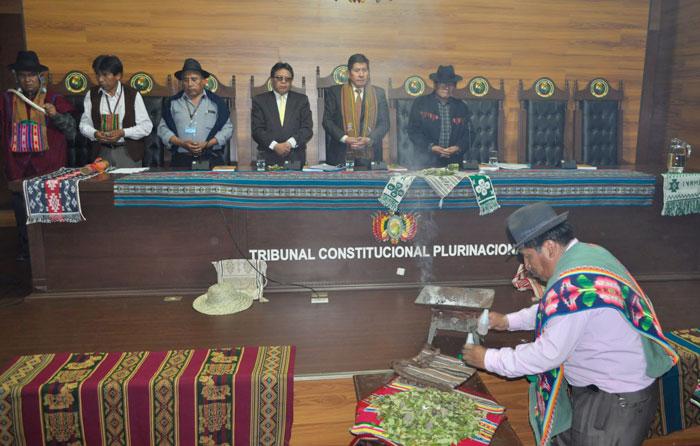 Los magistrados del TCP que habilitaron a Morales a la reelección indefinida cesarán sus cargos el 3 de enero