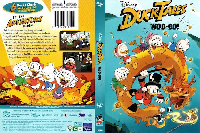 Duck Tales Woo-oo! DVD Cover