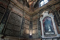 The Ossuary Chapel of San Bernardino alle Ossa in Milan