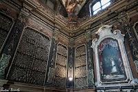 The Ossuary Chapel of San Bernardino alle Ossa in Milan