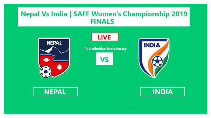 Watch Live | FINALS | Nepal Vs India | SAFF Women's Championship 2019