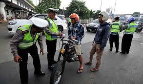Amankah motor custom saat ada razia polisi?