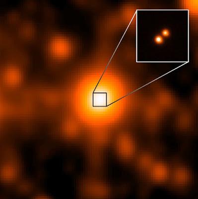 Il terzo sistema stellare più vicino al Sole, denominato WISE J104915.57-531906