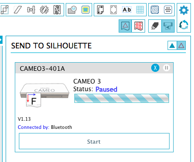 silhouette cameo 3 stuck on pause, silhouette cameo 3 help, silhouette cameo 3 tutorials