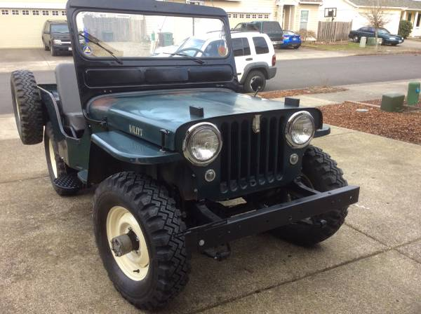 1952 Willys Jeep CJ3A