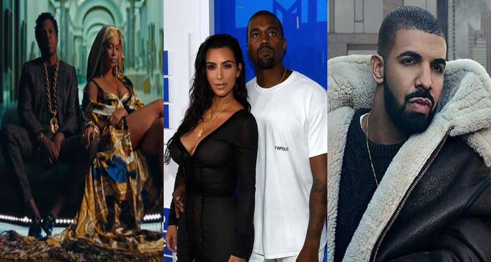 Jay-Z & Beyonce Fire Multiple Shots At Kanye West, Drake & Kim K Was Called  A 'Thot' In Their New Joint Album 'Everything Is Love'