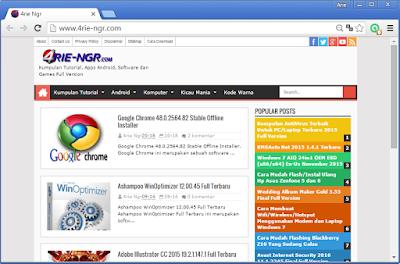 Chromium Browser 60.0.3073.0 Offline Installer Terbaru