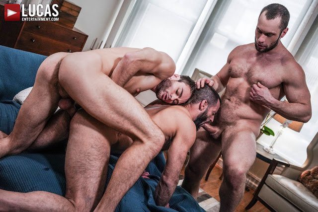 LucasEntertainment - STAS LANDON DOMINATES MAX ADONIS AND JAKE MORGAN