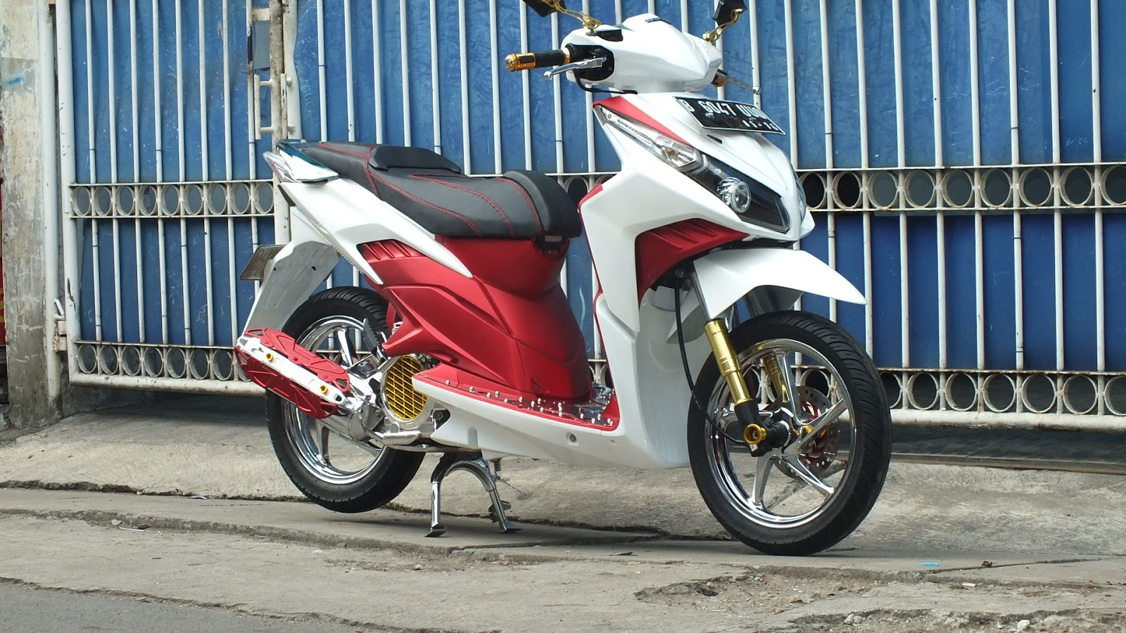 Modifikasi JOK MOTOR: JOK HONDA VARIO TECHNO 110 Model ...