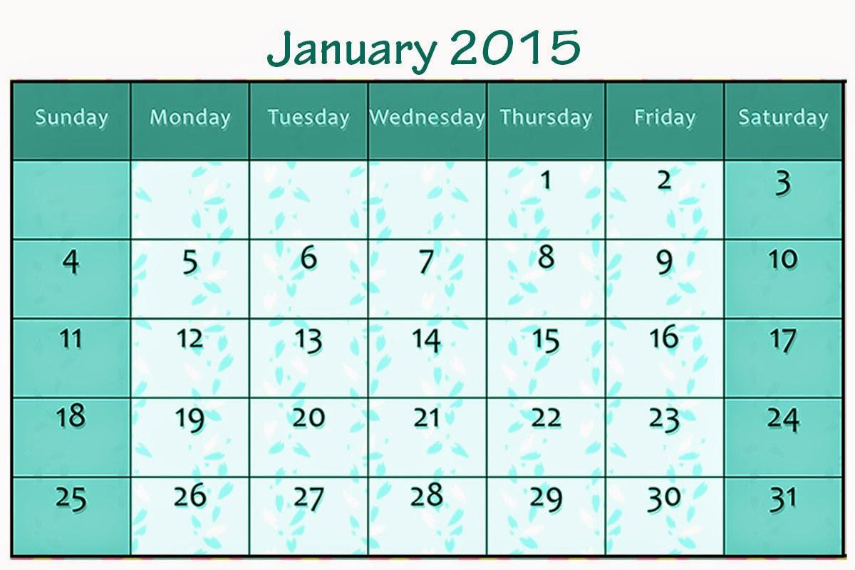 Free Printable Calendar Free Printable Calendar January