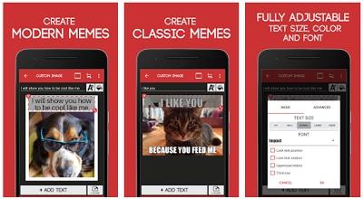 aplikasi membuat meme komik android