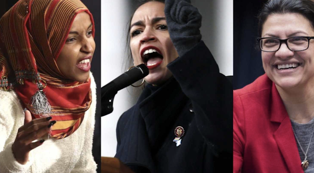 ANTI-PELOSI IMPEACHMENT WAVE GROWS: Ocasio-Cortez, Omar And Tlaib Call For Impeaching Trump
