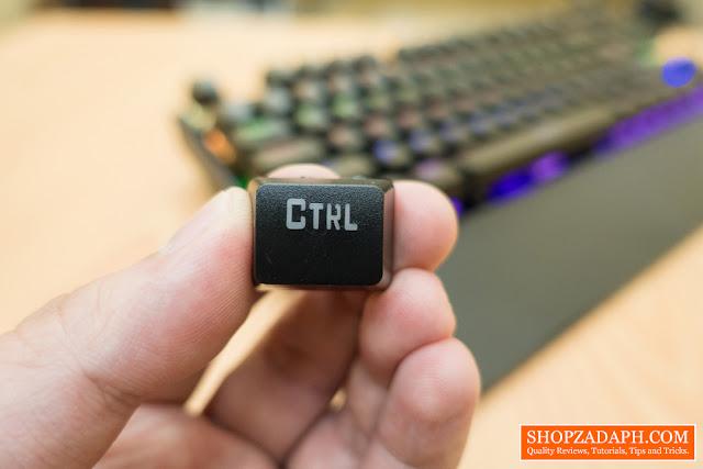 morganstar gigaware k28 blue switch mechanical keyboard review