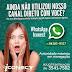 Adicione o whatsapp da iConect