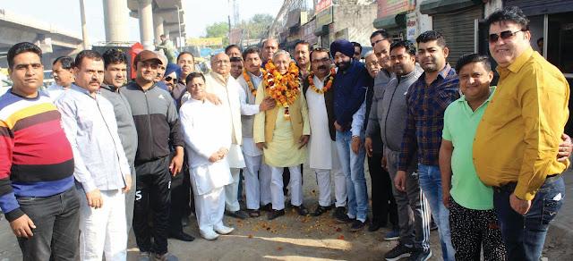 Subhash Katiyal's newly elected Chairman