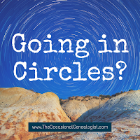 Is your genealogy research going in circles? Learn a free and easy solution in this post. #genealogy #familyhistory