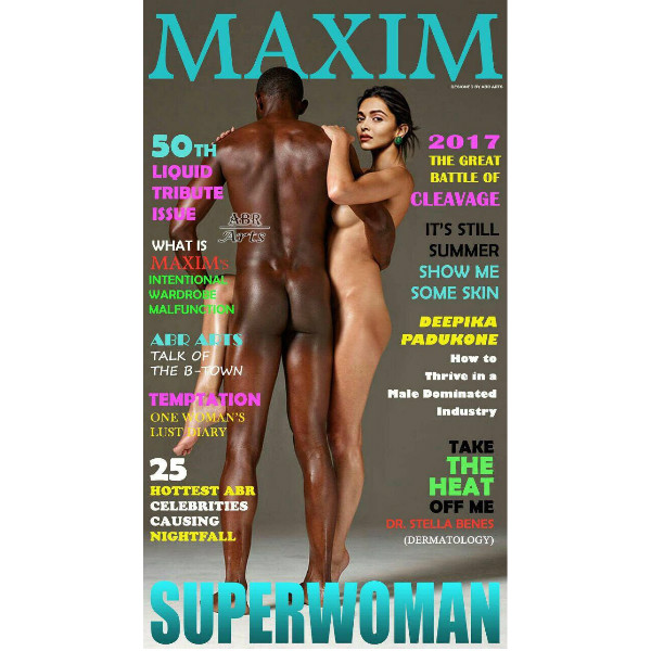 Deepika Padukone Fake Morphed Image On A Magazine Cover Goes Viral