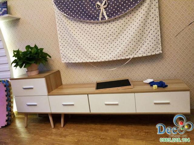 Kệ Tivi Đẹp Để Sàn Deco DB13