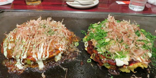 Japan food: Okonomiyaki