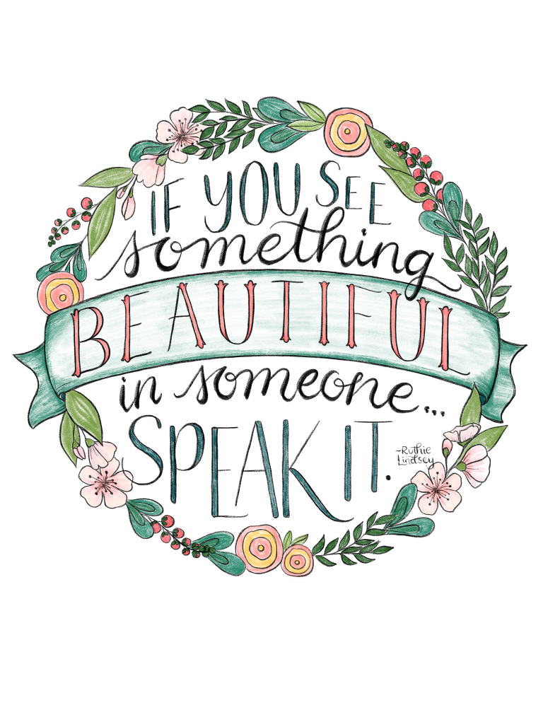 just what i {squeeze} in: Speak the Beautiful! - free coloring page