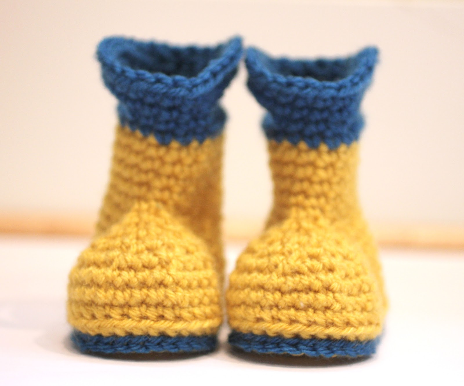 Crochet Baby Rain Boot Pattern Free : Crochet Rain Boots - Repeat Crafter Me