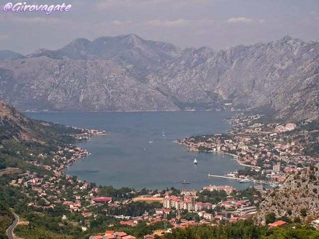 bocche cattaro fiordo Montenegro
